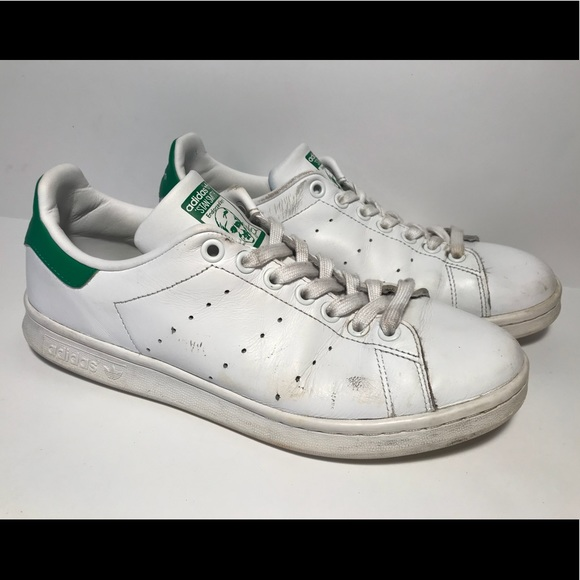 differently ecb37 684ae Original vintage adidas Stan Smith 7.5 white/green